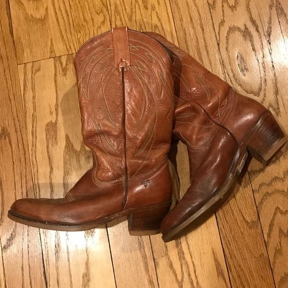 Frye Shoes   Frye Cowboy Western Boots